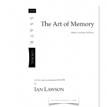 The Art of Memory  (SSATB)  Ian Lawson